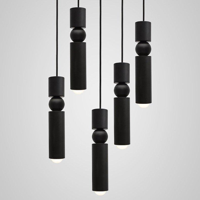 Подвесной светильник Fulcrum by Lee Broom Black купить выгодно с доставкой по цене 7 700 руб. – Loft Concept