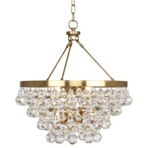 Люстра Robert Abbey Bling Chandelier Antique Brass