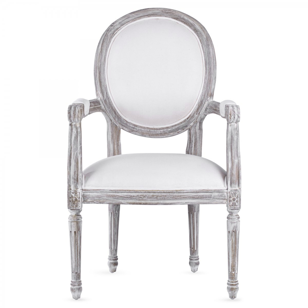 Стул REGENCY MEDALLION ARMCHAIR Avory Linen
