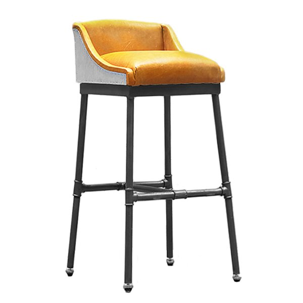 Барный стул Iron Scaffold Bar stool Yellow