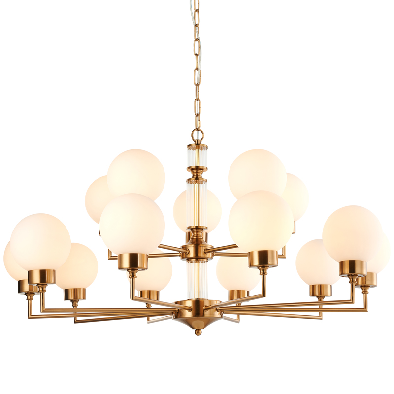 Люстра Zibille Chandelier Brass 93