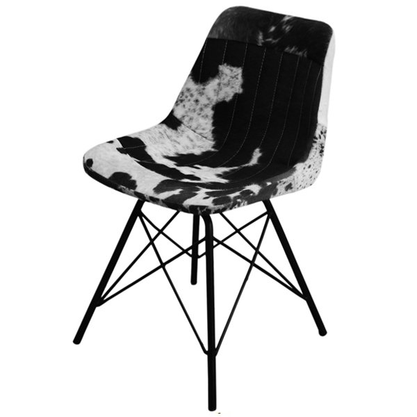 Стул Eames Stlye Cowhide Chair