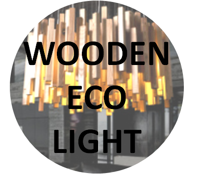 Wooden Eco Light