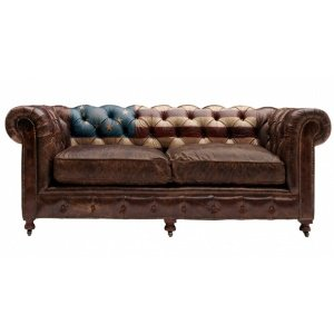 Диван Chesterfield Rebel Sofa Stars & Stripes Andrew Martin