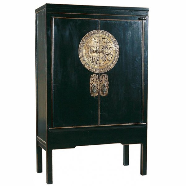Китайский шкаф Chinese black cabinet Dynasty Ming
