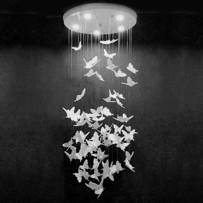 Люстра Night Butterflies Chandelier