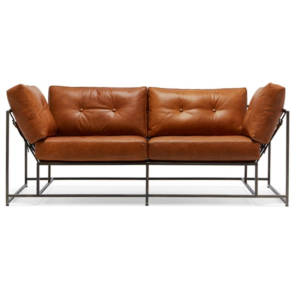 Двухместный диван Two Seat Encounter Leather Sofa