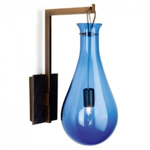 Бра Patrick Naggar Bubble Sconce blue