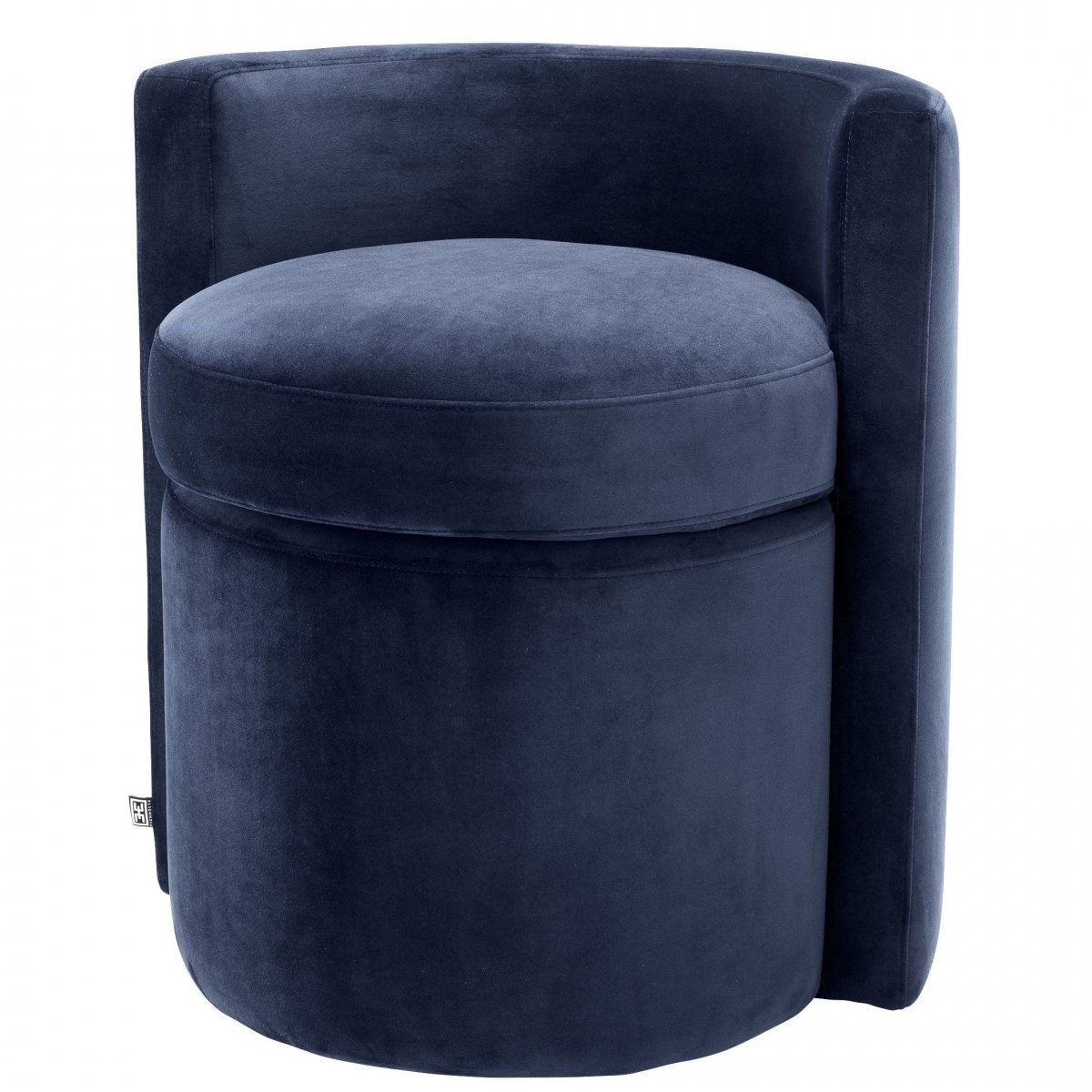 Кресло Eichholtz Stool Arcadia midnight blue
