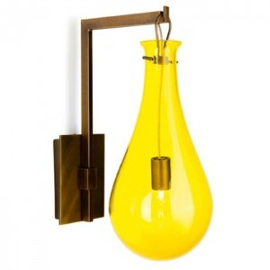 Бра Patrick Naggar Bubble Sconce yellow