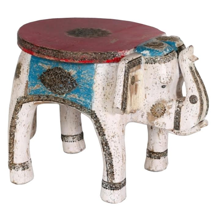 Столик Indian elephant table