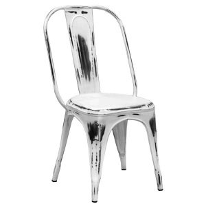 Кухонный стул Tolix Marais Chair Vintage White
