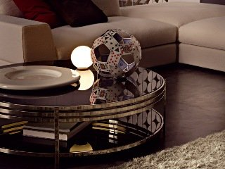 Столик Ula Round coffee table ULA002