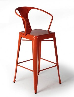 Барный стул Tolix Bar Stool 75 Armchair Backed