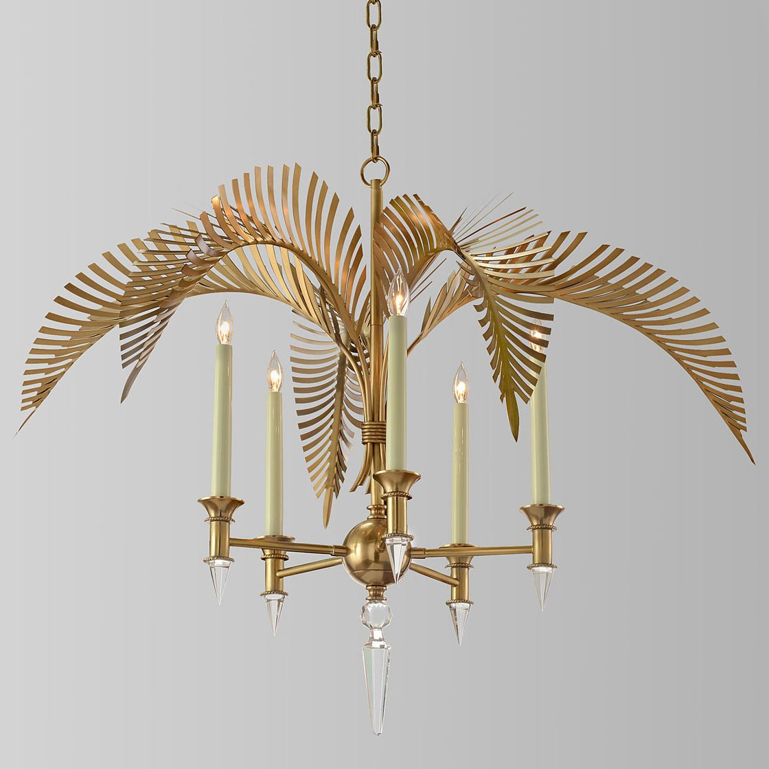 Люстра John-Richard Collection Palm Frond 5-Light Chandelier