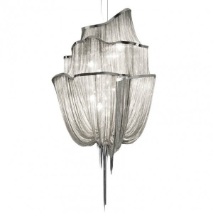 Люстра Terzani Atlantis Chandelier NICKEL