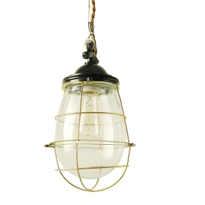 Люстра Glass Drop Cage Retro Color Light