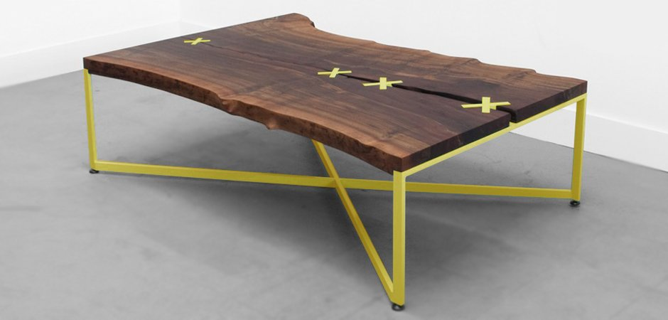 Журнальный столик лофт
