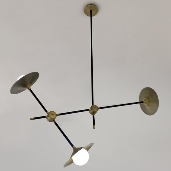 Люстра Disc Turbaya SS-3 Chandelier