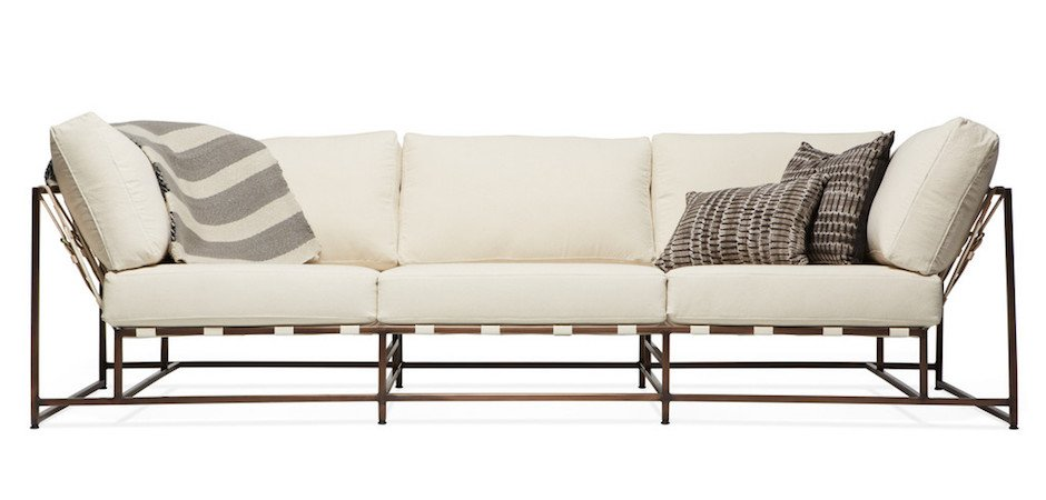 Диван Лофт Canvas & Copper Sofa купить