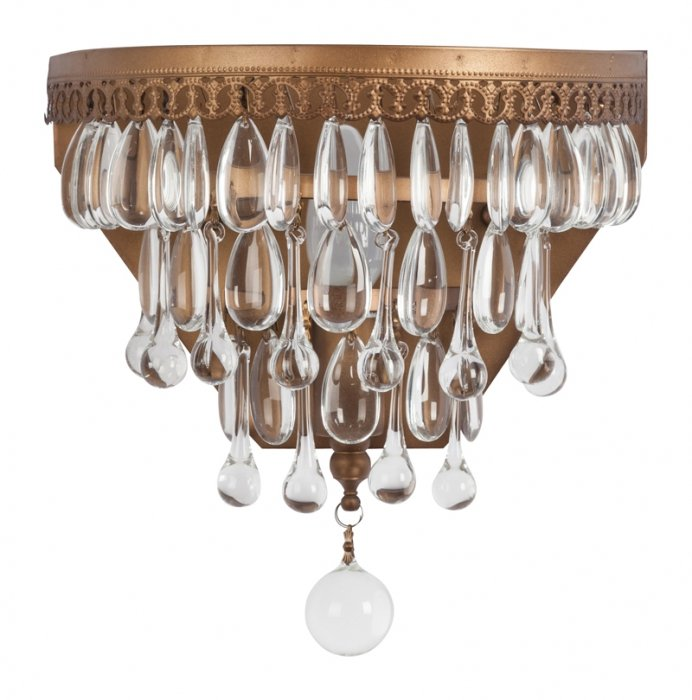 Бра Clarissa Glass Drop Sconce