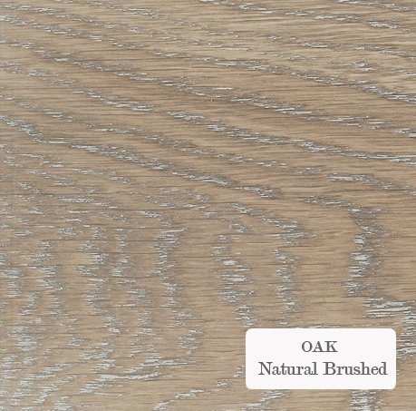 Oak Natural Brushed