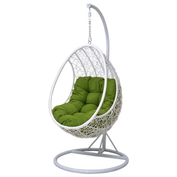 Кресло Swing chair outdoor White Egg