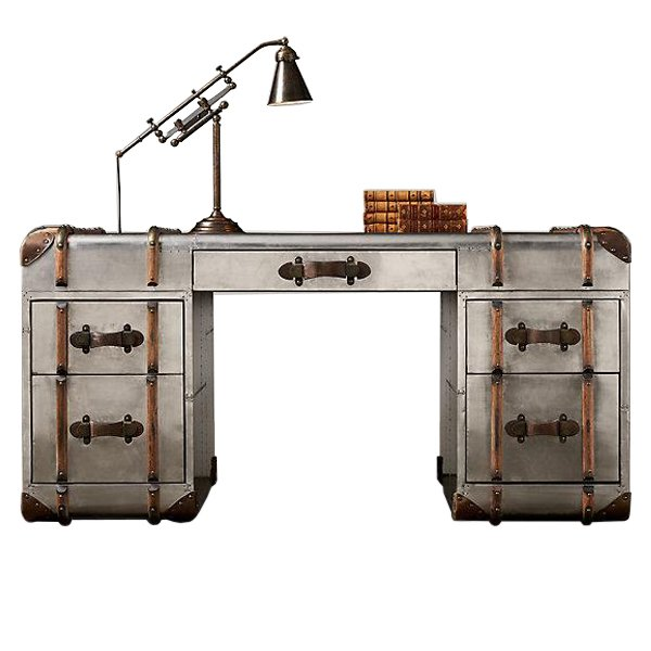 Стол RH Richards metal trunk Desks
