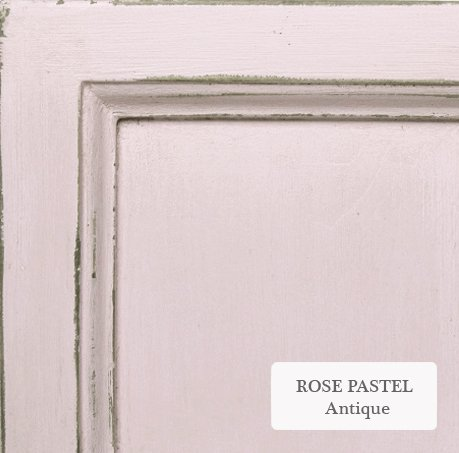 rose pastel antique