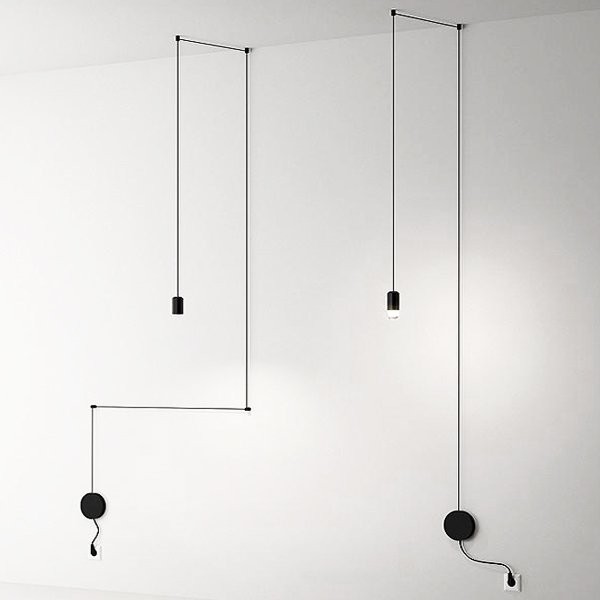 Vibia Wireflow Free-Form 0347 pendant lamp