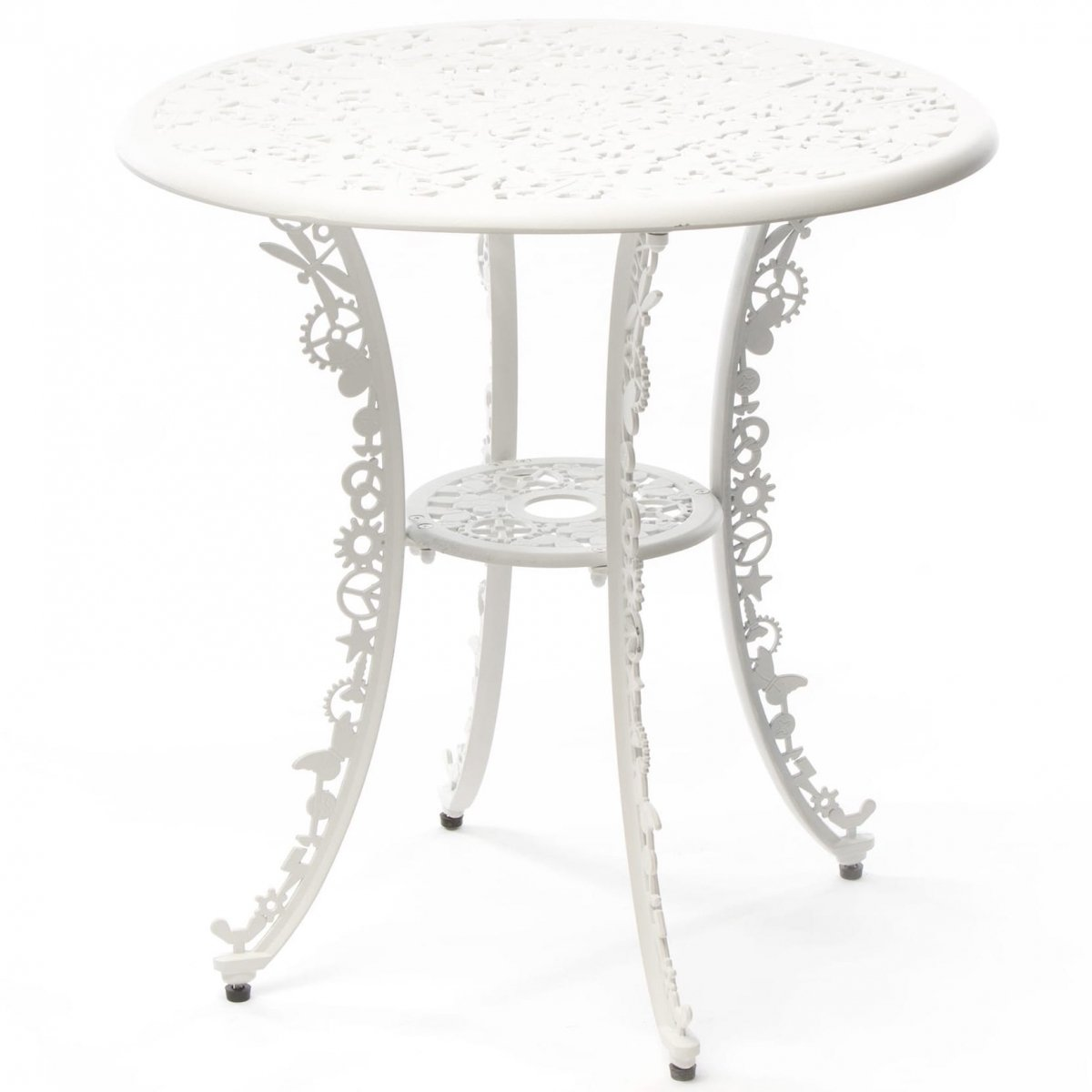 Обеденный стол Seletti Industry Collection ALUMINIUM TABLE – WHITE