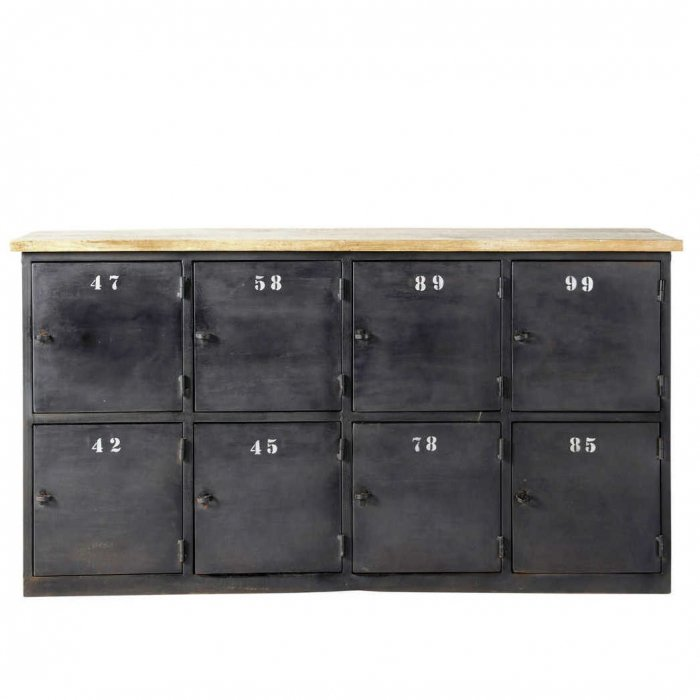 Комод Industrial Rust Eight Chest