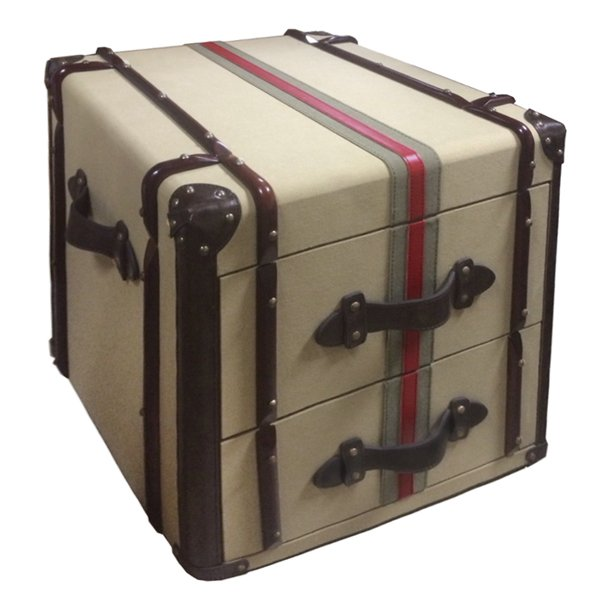 Комод Richards Red line Canvas Medium trunk