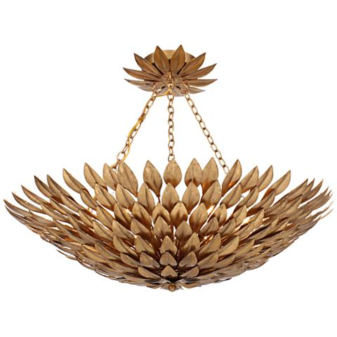 Люстра Crystorama Broche plumage  Antique Gold CHANDELIER