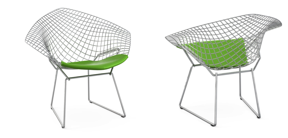 Кресло Bertoia Diamond Chair
