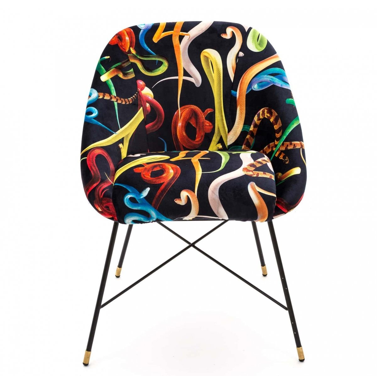 Кресло Seletti Padded Chair Snakes