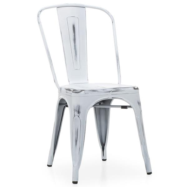Кухонный стул Tolix Chair Vintage White