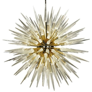 Murano Spike  Sputnik Rock Chandelier